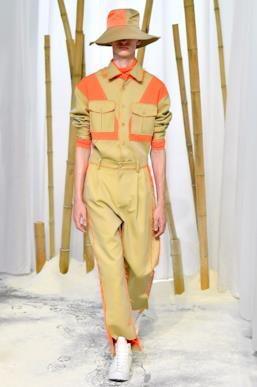Sfilata FENG CHEN WANG Collezione Uomo Primavera Estate 2020 Londra - CSC_2544