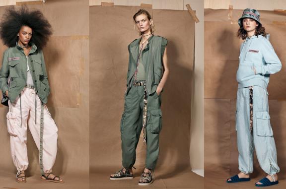Tre look della nuova collezione SRPLS Zara