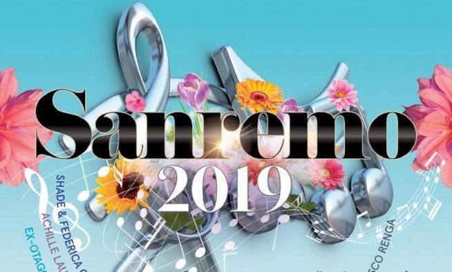 Sanremo 2019, la copertina della compilation