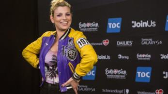 Emma Marrone ai tempi della sua partecipazione allìEurovision