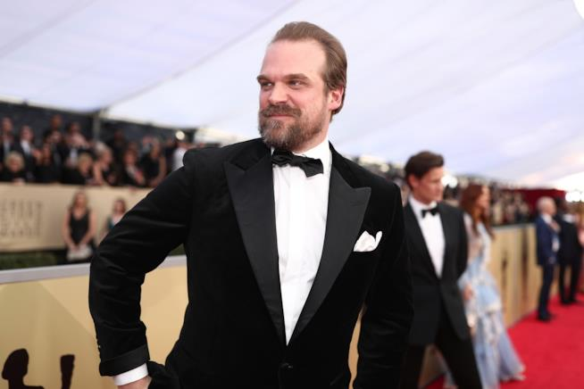L'attore David Harbour