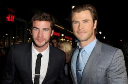 Liam Hemsworth e Chris Hemsworth