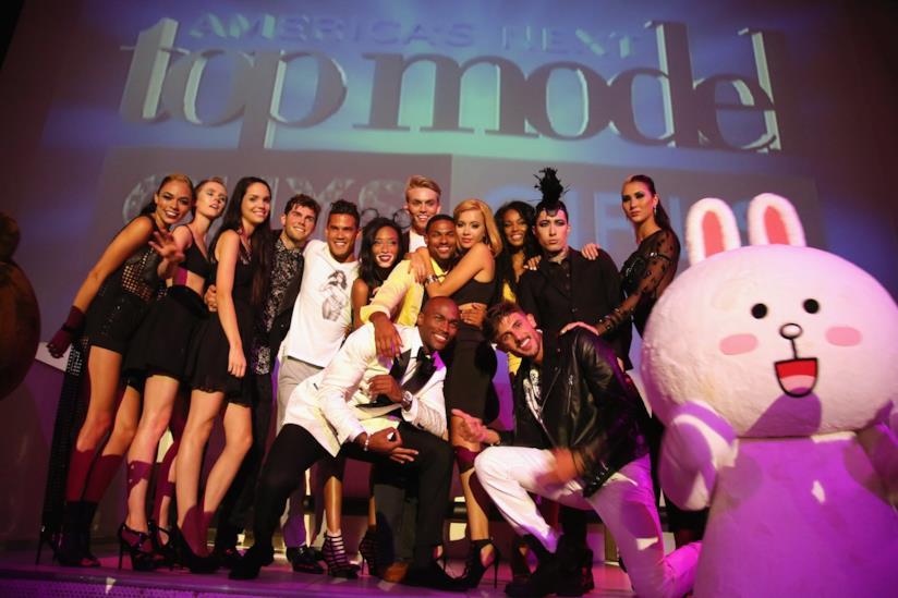 Il cast di America's next top model, edizione 2014
