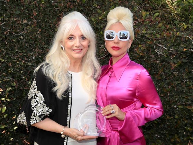 Lady Gaga con la madre Cynthia Germanotta Empathy Rocks