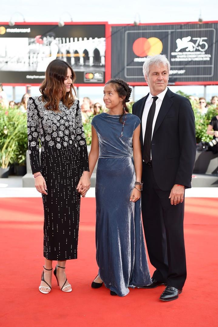 Kasia Smutniak e Sophie Taricone sul red carpet con Domenico Procacci