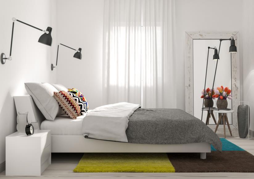 Tante idee pratiche su come arredare una camera da letto piccola