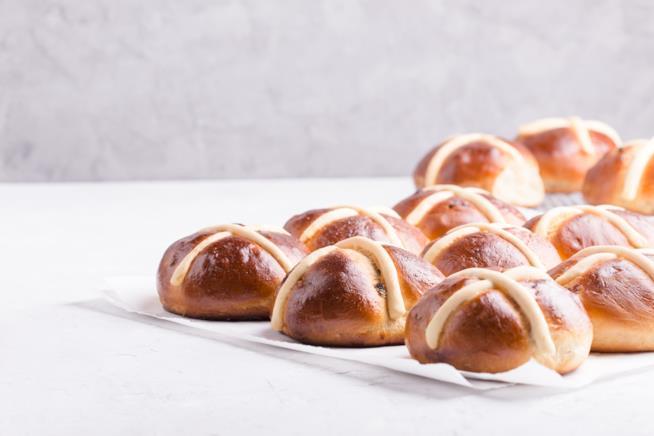 Hot cross buns, ricetta pasquale inglese