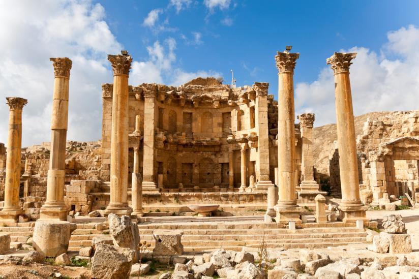 Il ninfeo di Jerash