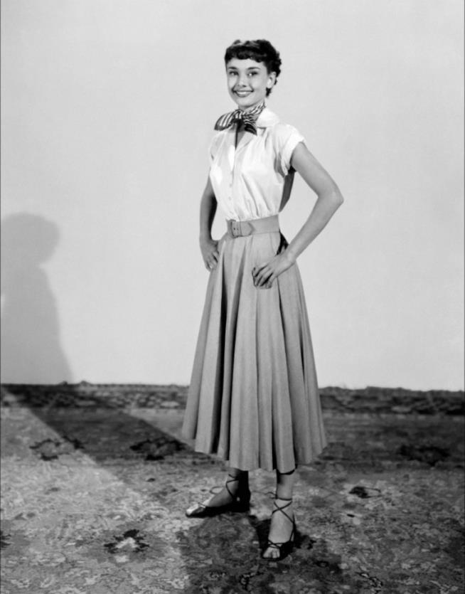 Il look di Audrey Hepburn in Vacanze Romane