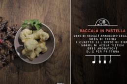 Zeppole di baccalà in pastella