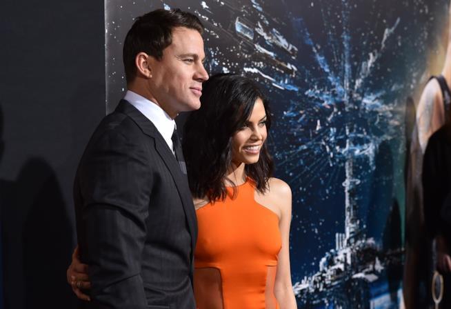 Channing Tatum e la moglie Jenna