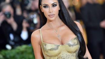 Kim Kardashian in un'immagine sensuale