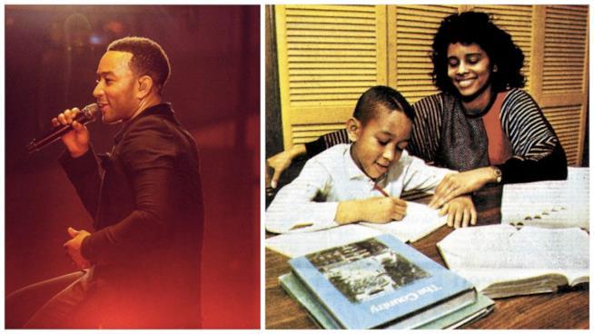 John Legend da bambino