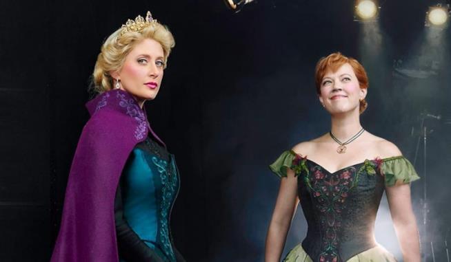 Le protagoniste del musical Frozen