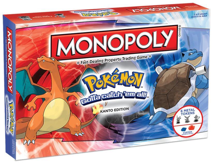 Una versione di Monopoli dedicata ai Pokémon