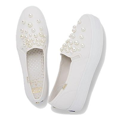 Le scarpe da sposa con le perle di Kate Spade