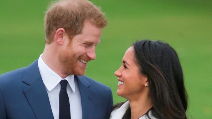 Harry e Meghan in un momento insieme