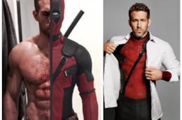 Gli addominali di Ryan Reynolds sotto il costume di Deadpool