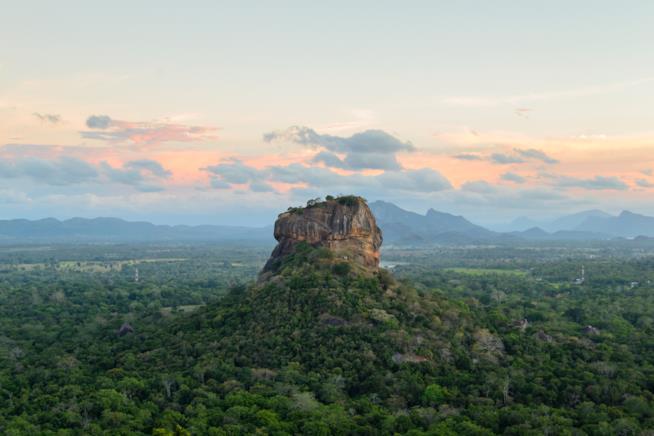 Roccia di Sigiriya