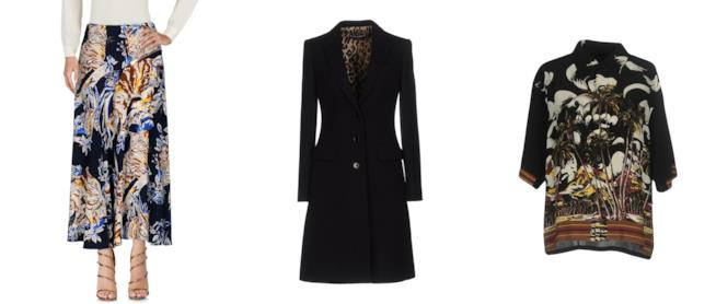 Abbigliamento in offerta su Yoox per il Black Friday