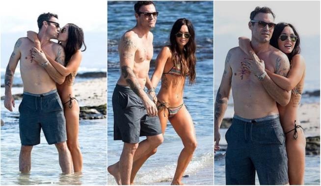 Megan Fox e Brian Austin Green alle Hawaii