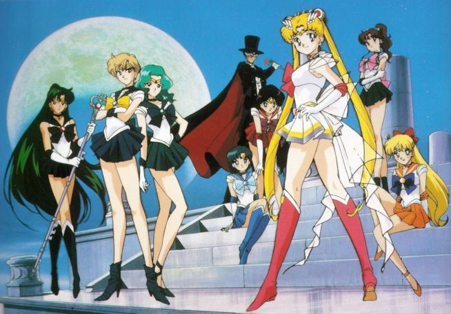 Le guerriere Sailor