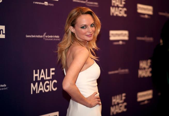 Heather Graham sul red carpet per Half Magic