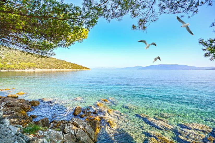 Spiaggia di Sv. Ivan, Isola di Cres