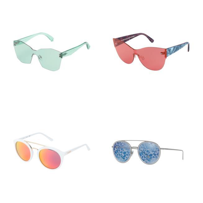 Colorati, gli occhiali da sole tendenza autunno 2018