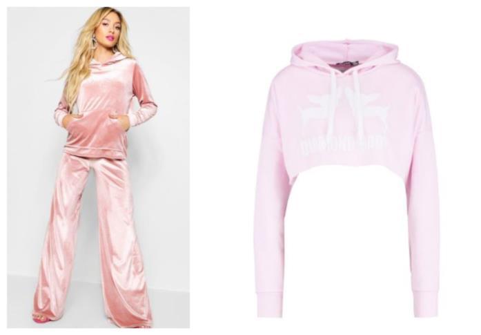 Tanto rosa, abbigliamento comodo e sportivo di Paris Hilton