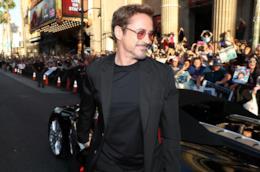 Robert Downey Junior nelle vesti di Iron Man