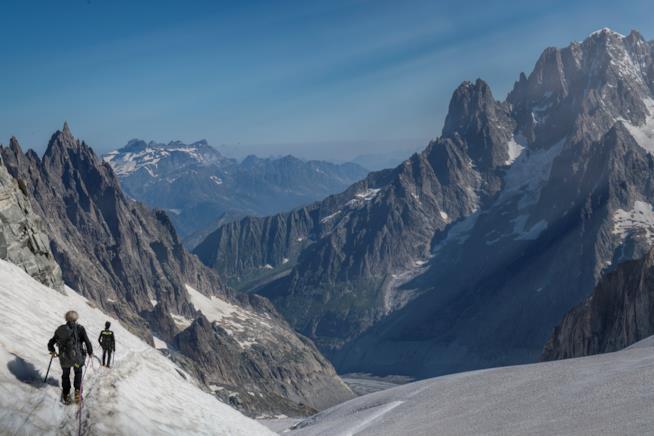 Vista delle Alpi