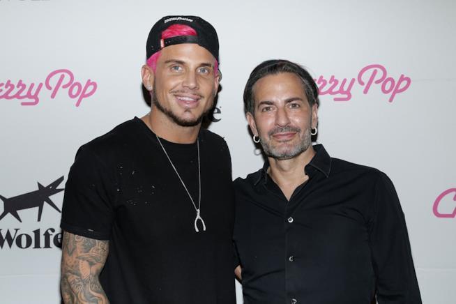 Marc Jacobs e Char Defrancesco
