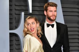 Liam Hemsworth insieme a Miley Cyrus