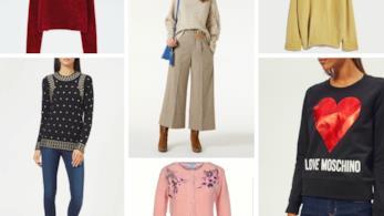 Maglione di lana fashion