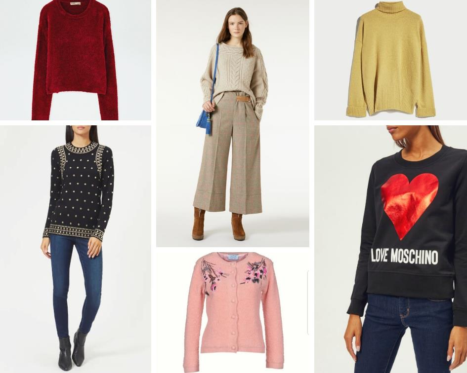 new style 16e6a 98fe4 I più bei maglioni di lana da donna per l'inverno 2018-2019