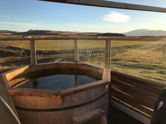 Jacuzzi all'aperto - Islanda