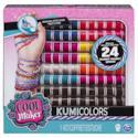 Cool Maker Kit Ricarica per 24 Braccialetti Kumi, Colore Assortito, 192 rocchetti, 6045482