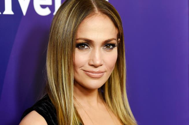 L'attrice e cantante Jennifer Lopez, detta J. Lo