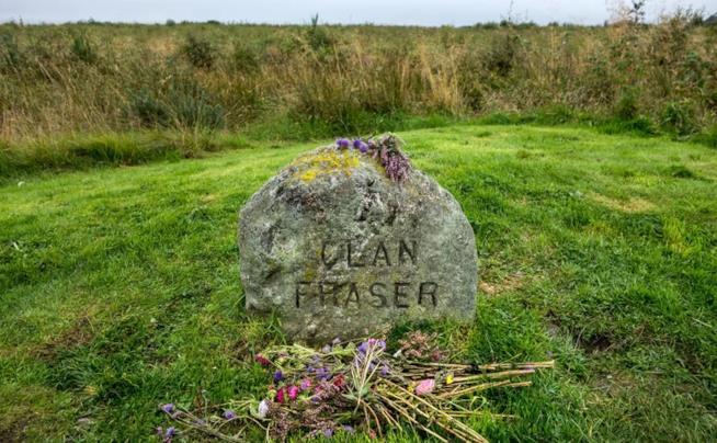 Immagine della tomba del Clan Fraser in Scozia