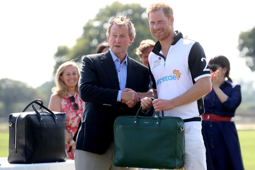 Il Principe Harry all'evento Sentebale ISPS Handa Polo Cup 2018