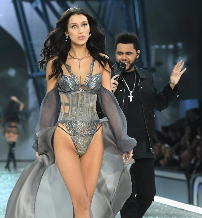 Bella Hadid e il compagno The Weeknd