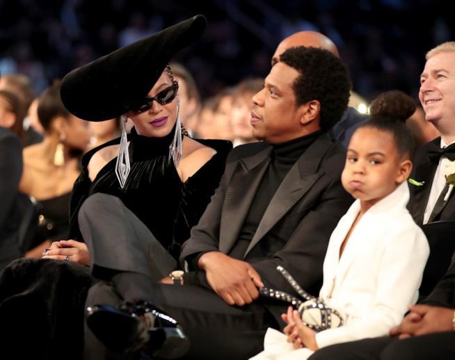 Blue Ivy Carter si annoia ai Grammy