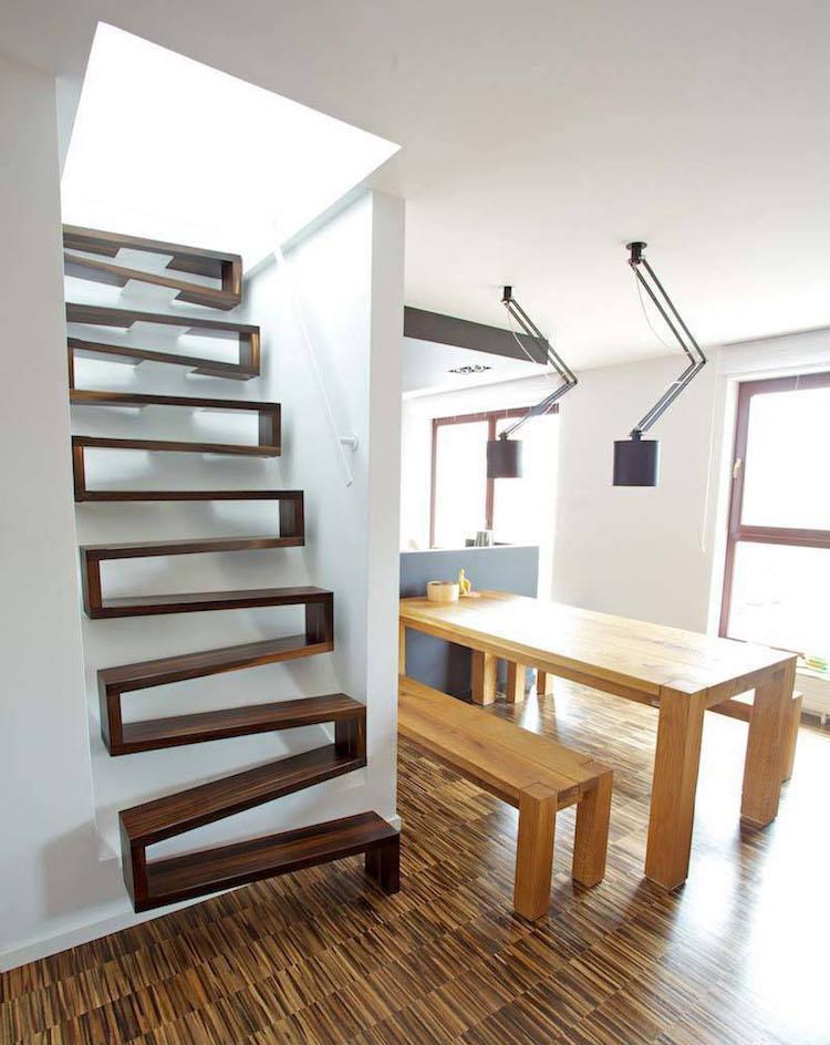 Scale dalle forme inusuali che sembrano vere sculture - Immagini di scale ...
