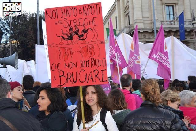 Le manifestazione del 26 Novembre 2016 contro la violenza sulle donne