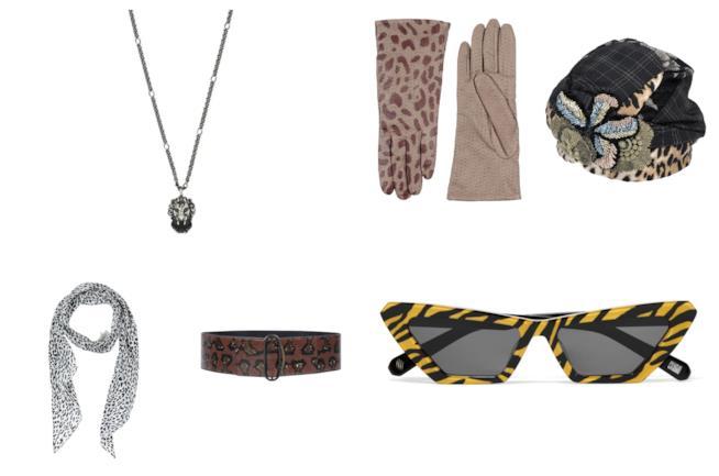 Con la stampa animalier, gli accessori di moda per l'A/I 2018-19