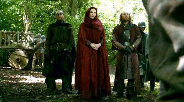 Melisandre minaccia gendry