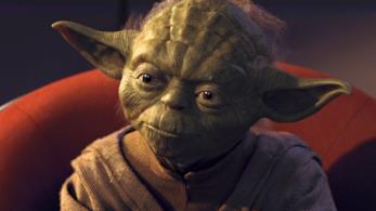 Il maestro jedi Yoda
