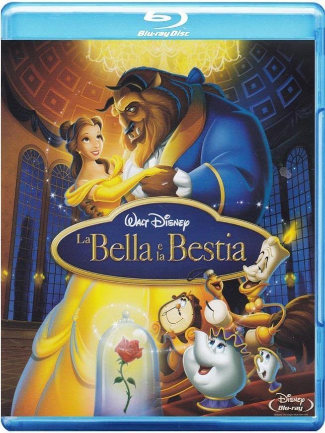 il blu-ray de La Bella e la Bestia