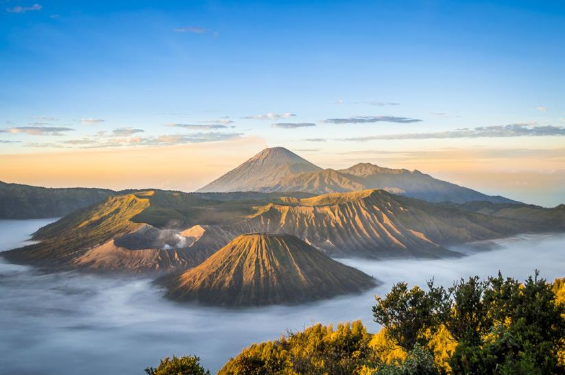 Vulcano Bromo a Giava in Indonesia